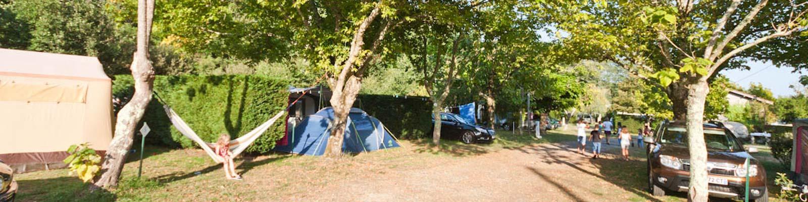 camping arcachon tente équipée